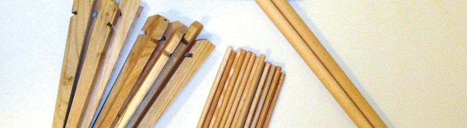 Holzpakete