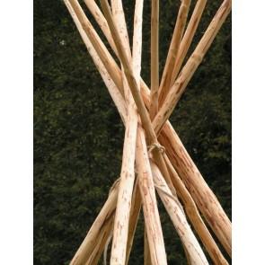 Stangenpaket (Tipistangen) für 3,80m-Tipi