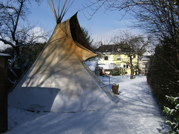 tipi mit ca 5m durchmesser extraschwere ausf hrung ebay. Black Bedroom Furniture Sets. Home Design Ideas